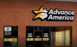 Advance America check cashing